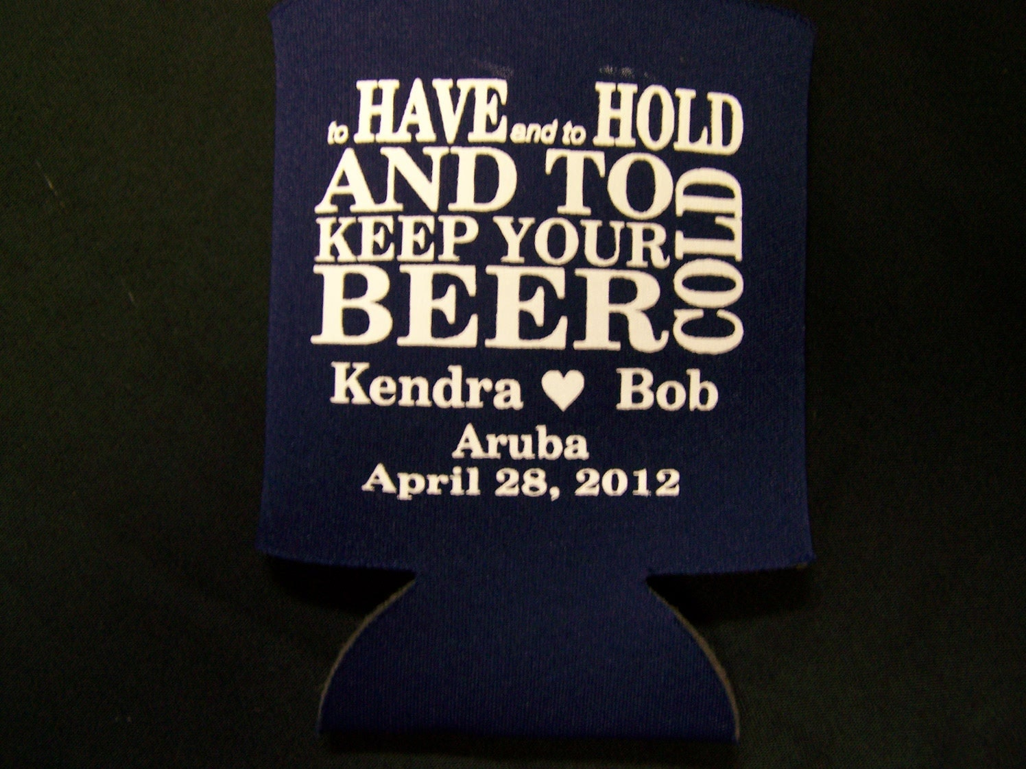 WEDDING FAVOR Custom Koozie 50 By KoozieKottage On Etsy