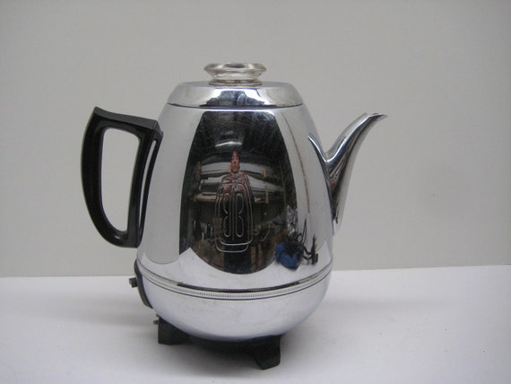 Vintage GE Pot Belly Electric Percolator 58 P 40