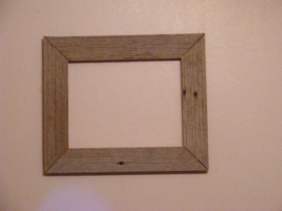 "8 1/2"" X 11"" Vintage Barn Wood Photo Frame"