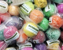Bath Bombs -  15 Extra Large Handmade All Natural Bath Bomb Fizzys- You Pick the Scents