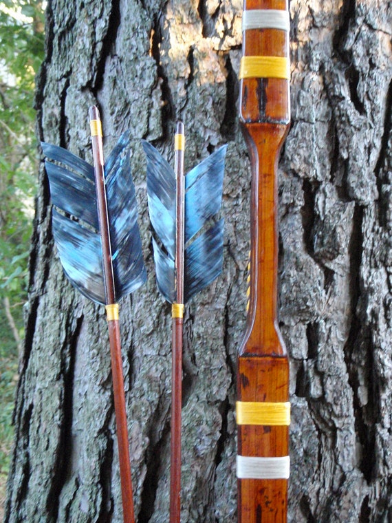 """Katniss style archery set, 27lb at 28"""", Hunger Games inspired archery set, comes with arrows"""