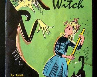 Little Witch by Anna Elizabeth Bennett Vintage Chidlren's Book