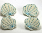 Felt Embellishments - Sea Shells
