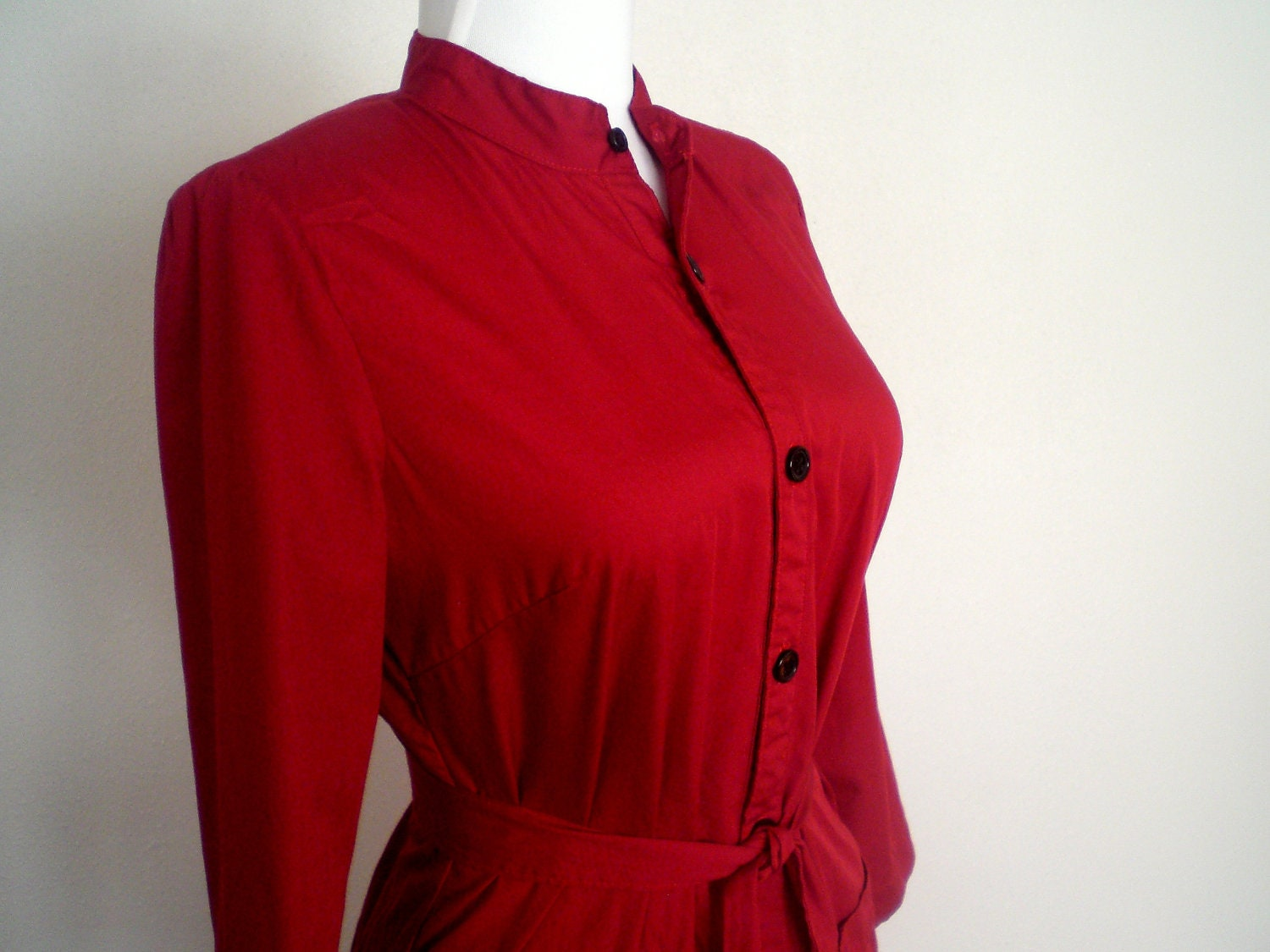 dark red women 39 s shirtdress shirt dress button front