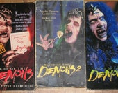 RESERVED: 1980's Horror Film-Night of the Demons-Lot of three