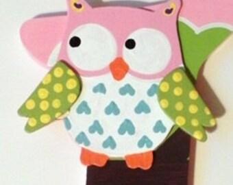 Owl Bow Holder