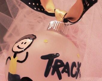 Track Ornament