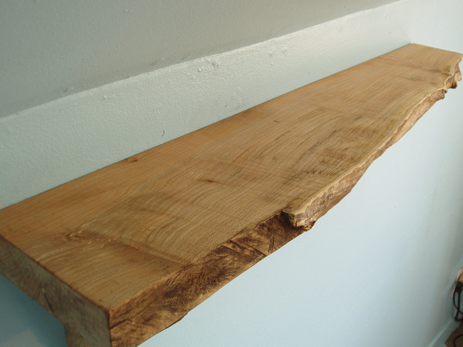 Live Edge Maple MantleShelf
