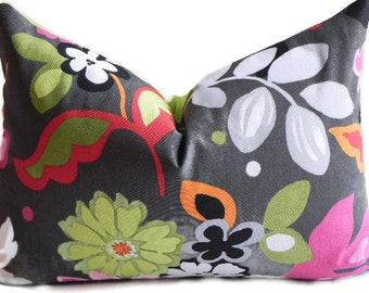 Floral Decorative 14X20 BOTH SIDES Pillow Cover Home Decor Fabric Throw Pillow-Accent Pillow-Living Room Pillow-Lumbar Pillow