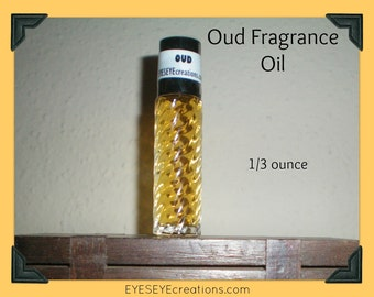 OUD Fragrance Body Oil 1/3 ounce (oz)