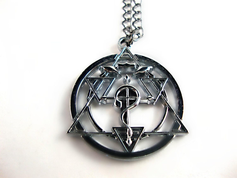 inspired the fullmetal alchemist necklace