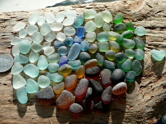 Jazomir collection of English sea glass tinies