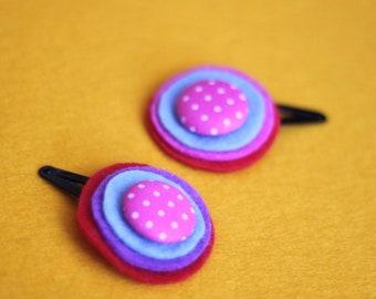 Set of 2 hair accessories pins