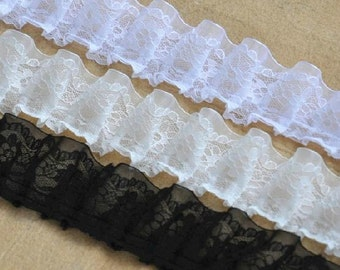 2 Yards Lace Trims 4cm Width,Embroidery,Vintage Style,3 Colors For Choice,Victoria(DL27)