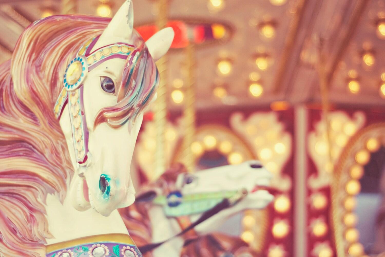 Carnival Fine Art Photography retro vintage carousel horse