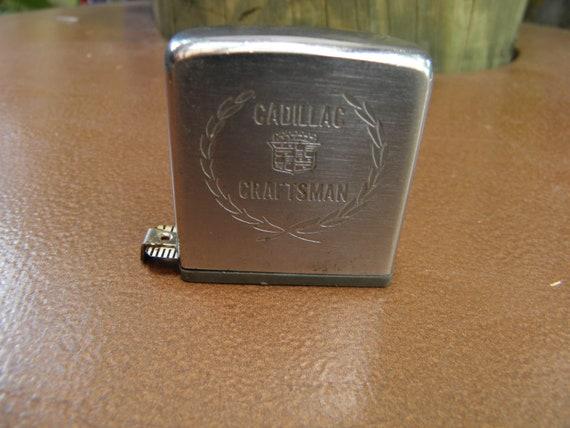 C. 60's Zippo Promotional Tape Measure, Cadillac, Craftsman, Advertisement, 6 feet,