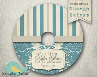 CD/DVD Label templates - DVD Label 19