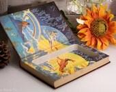 Vintage Hollow Book - The Home University Encyclopedia -