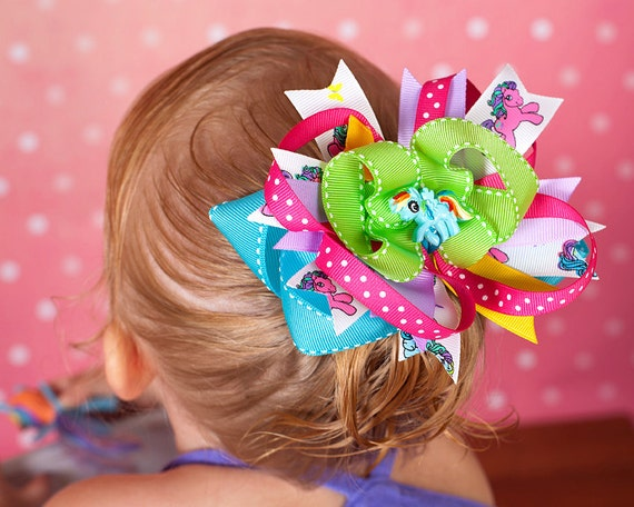 My Little Pony Over The Top Bow