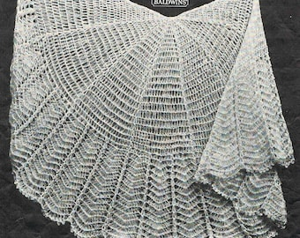 40s style- circular crochet baby shawl pattern- Australian Crochet PDF - simply precious