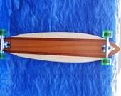 """Hardwood Longboard 45"""" X 10"""""""