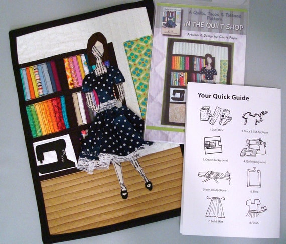 In the Quilt Shop - Quilt Pattern