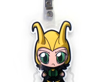 Loki Chibi Badge