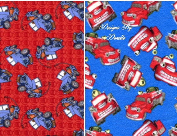 "TUGGER FLANNEL Charm Pack  (32) 6 1/2"" Quilt Fabric Squares (16 of each print shown)"
