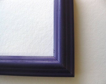 Custom frame | Purple painted |  1 inch width | Made to Order | Free Shipping |8 x 10 Frame | 11 x 14 Frame | 16 x 20 Frame | 20 x 24 Frame