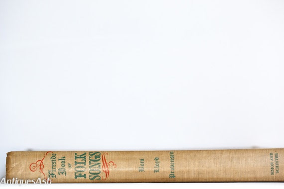 Fireside Book of Folk Songs Second Edition Simon Schuster
