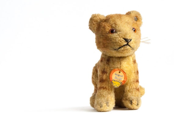 Steiff Tiger Junglowe Young Lion