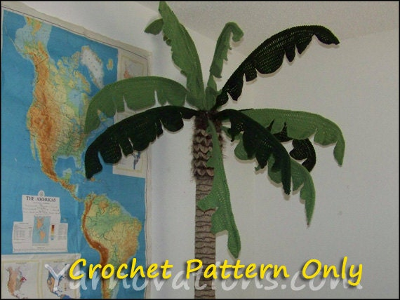 Giant Palm Tree - Crochet Pattern