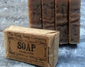Buttermilk Honey Oatmeal Soap - Morning Muffin Soap - All Natural Soap, Face Soap Bar, Palm Oil Free Soap, Oatmeal Soap, Fragrance Free
