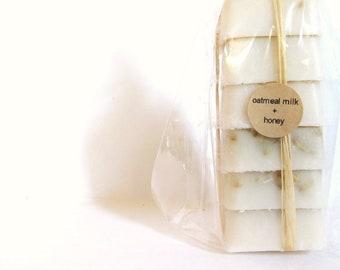 Oatmeal Milk and Honey Mini Guest Soap Set of 6