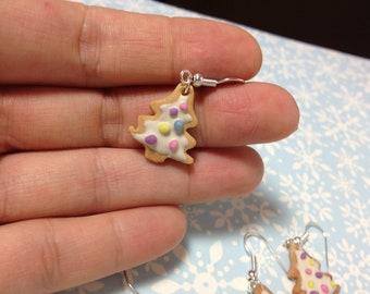 Scented Christmas Cookie Earrings