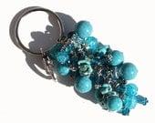 Turquoise Chunky Key Chain