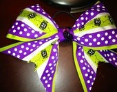 The Itsy Bitsy Spider Halloween Cheer Bow