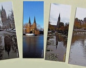 Delft (Holland) bookmarks, series of 4