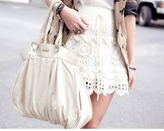 Lace skirt ,  crochet handmade , custom made