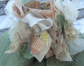 Designer Cuff -4 Bridal and Casual Use- Feat. Silk, Linens and Embroidery