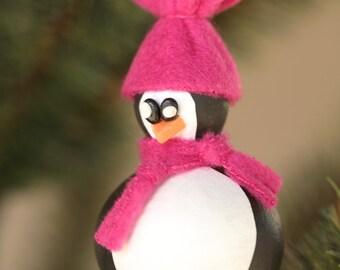 Gourd Penguin Ornament