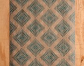 Weave Pattern Wrapping Paper - Teal