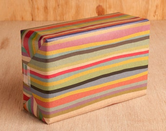 Multicolored Stripe Wrapping Paper