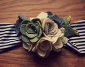 Felt Bouquet Headband