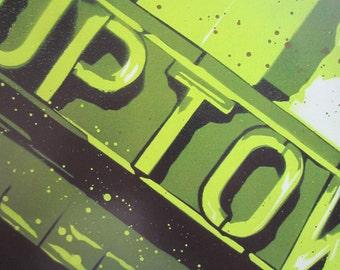 Uptown Theatre MPLS Stencil Art Print