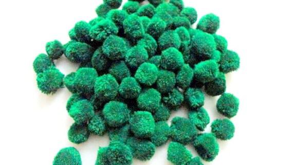 50 piece green yarn pompom embellishment wholesale supply