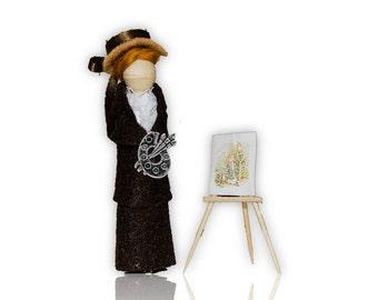 Beatrix Potter Clothespin Peg Doll Christmas Ornament Kit