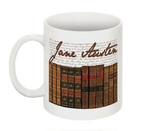 First Editions of Jane Austen's Works: Mug
