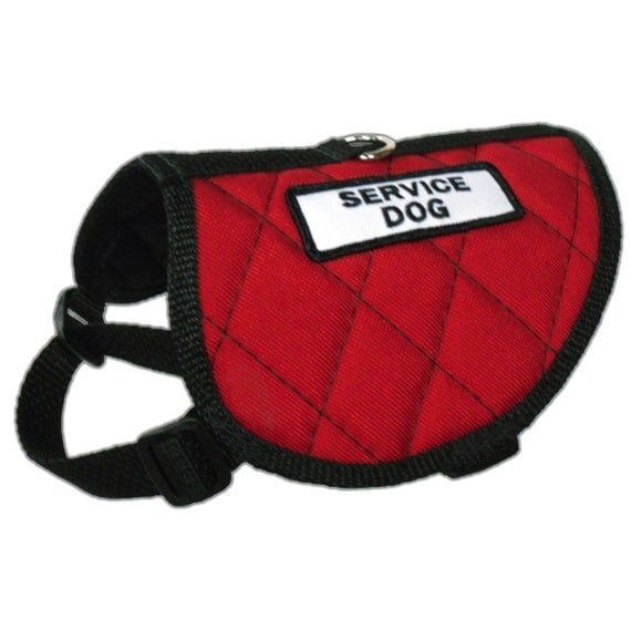 Service Dog Patches For Small Dogs