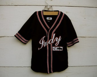 Vintage INDY 500 Jersey for little boys, INDY 500 outfit for boys, race car outfit for boys (sz 10-12)